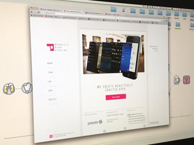 Mbs New Website ui responsive website logo mobile