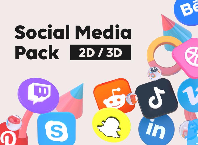 Social Media Pack uidesigner concept ux design webdesign designer app website uxui ui ux