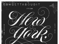 Howdy from new york b may 26 2015 dribbble attachment