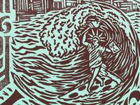 Island Living – Liberty Shredding on a Slice