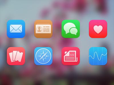 Axla 3 sketch icons themes ios
