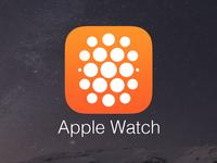 "Apple Watch ""Companion"" App Icon (Concept)"
