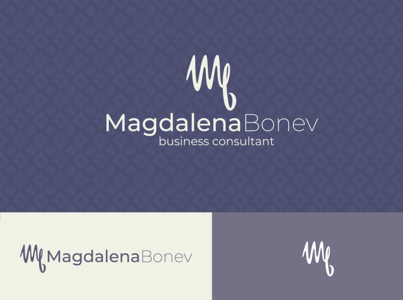 Magdalena Bonev Logo business logo branding design logodesign design branding logo