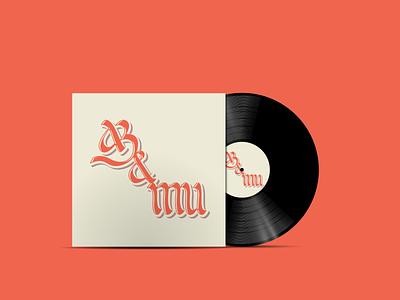 Calligraphy Vinyl Cover cyrillic music art cover design vinyl cover calligraphy and lettering artist lettering artist calligraphy artist lettering calligraphy design