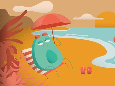Avocado | Illustration adobe illustrator art avocados avocado illustration art artwork design vector illustration design illustrator illustraion