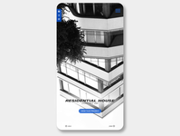 'Residential House Concept' - App design/version