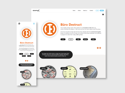 Editorial Webdesign - School assignment (part two)