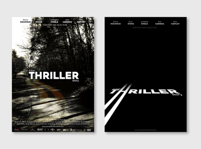 Thriller posters