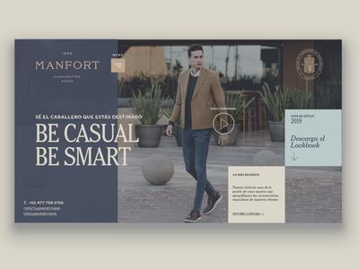 Manfort Web - Shoe E-Commerce