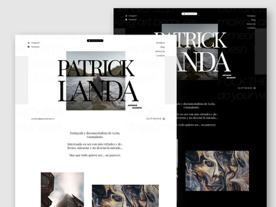 Patrick Landa - Website