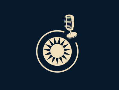 The Zoom Podcast Logo Design