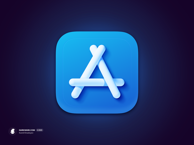 The App Store Icon (macOS Big Sur) wwdc 3d madeinaffinity big sur icon macos