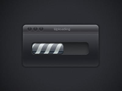 Remake of first shot mac gui ui interface loading bar progress