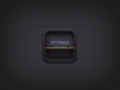 Storage icon ios icon iphone storage
