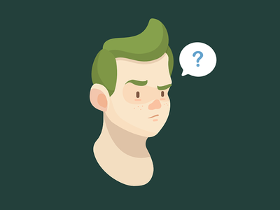 Dude illustration character
