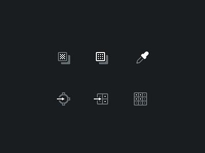 Icons for Photoshop Panel photoshop icons