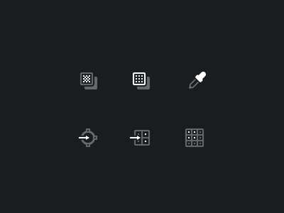 Icons for Photoshop Panel