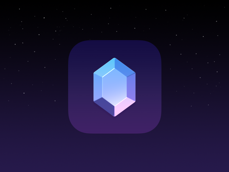 iOS icon affinity diamond icon ios