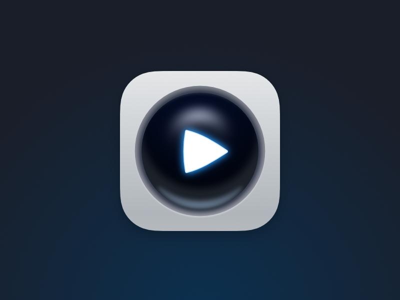 Ios icon dribbble play