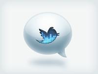 Trendy Twitter Icon