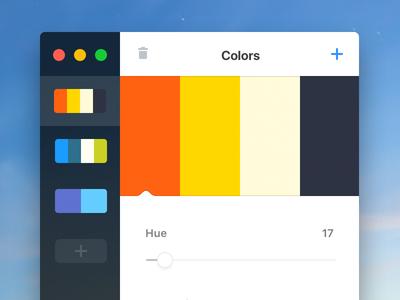 Palettes App (vue.js)