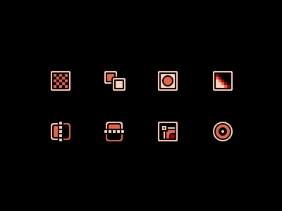 Icons for a Plugin photoshop icons