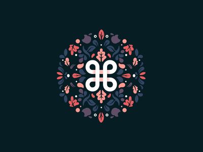 ⌘ pattern illustration icon