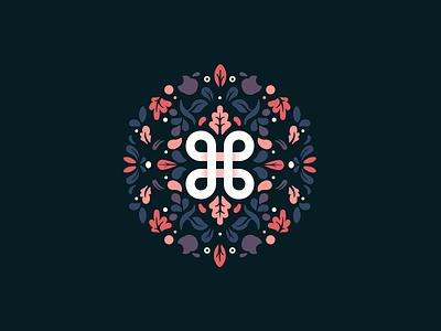 ⌘ pattern illustration icon