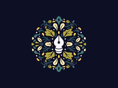🖋 floral affinity designer vector pattern illustration icon
