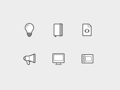 Icon set icon glyph pictogram 48px