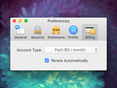 Preferences (macOS Toolbar Icons) macos mac app icons