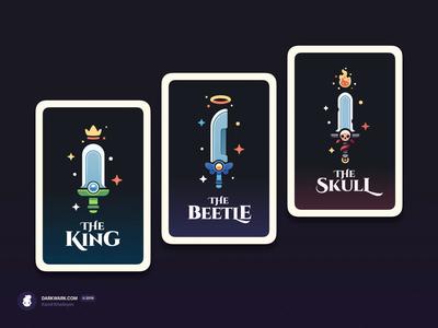RPG Swords Cards