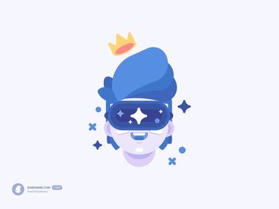 VR Boy — Character Illustration