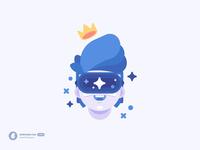 VR Boy — Character Illustration madeinaffinity character vector illustration