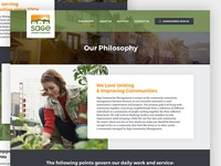 Sage Community Management (Philosophy & About Page)