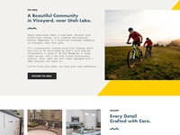 First Look: Townhouse Community Website
