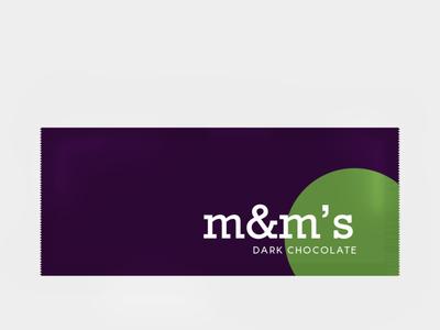 Weekly Warm Up : Dark Chocolate m&m's