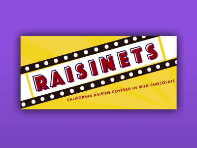 Weekly Warm Up : Raisinets