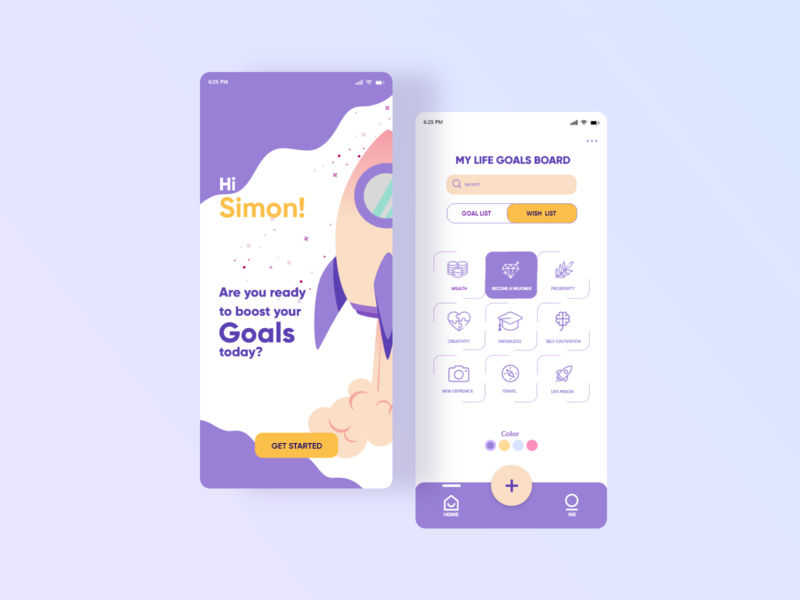 Designwich UI Challenge 001 – Wishlist Application website vector flat icon web ux ui minimal design app