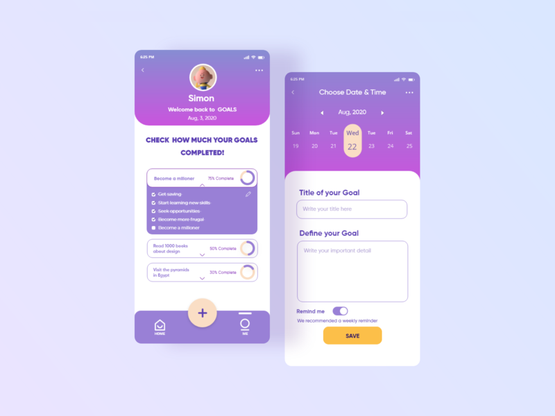 Designwich UI Challenge 001 – Wishlist Application minimal vector icon flat website web ux ui design app