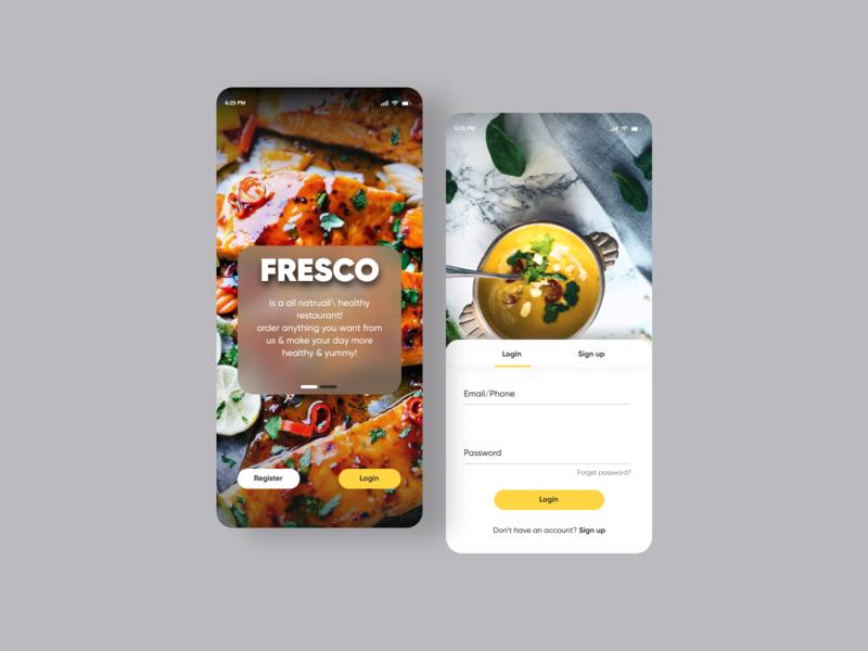 Food Delivery App delivery app minimal userinterface dribbble uiux design app ui food food app