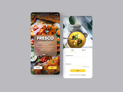 Food Delivery App delivery app minimal userinterface dribbble uiux design app ui food food app