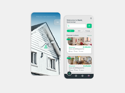 Real Estate Platform icon minimal app dribbble userinterface design ux