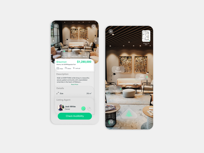 Real Estate Platform   app dribbble uiux userinterface minimal design ux