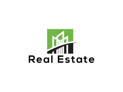 Real estate logo design property construction home housing branding design vector minimal logo