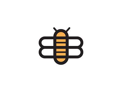 Bee Logo bee logo branding minimal design logo