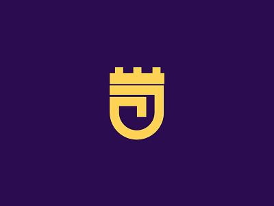 Letter J branding minimal vector lettering design logo