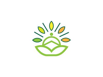 yoga yoga minimal vector branding design logo