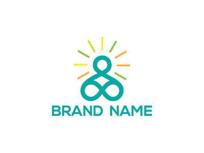 Yoga vector minimal design branding yoga logo