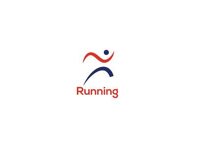 running logo game spors letter runner logo logo design branding logo